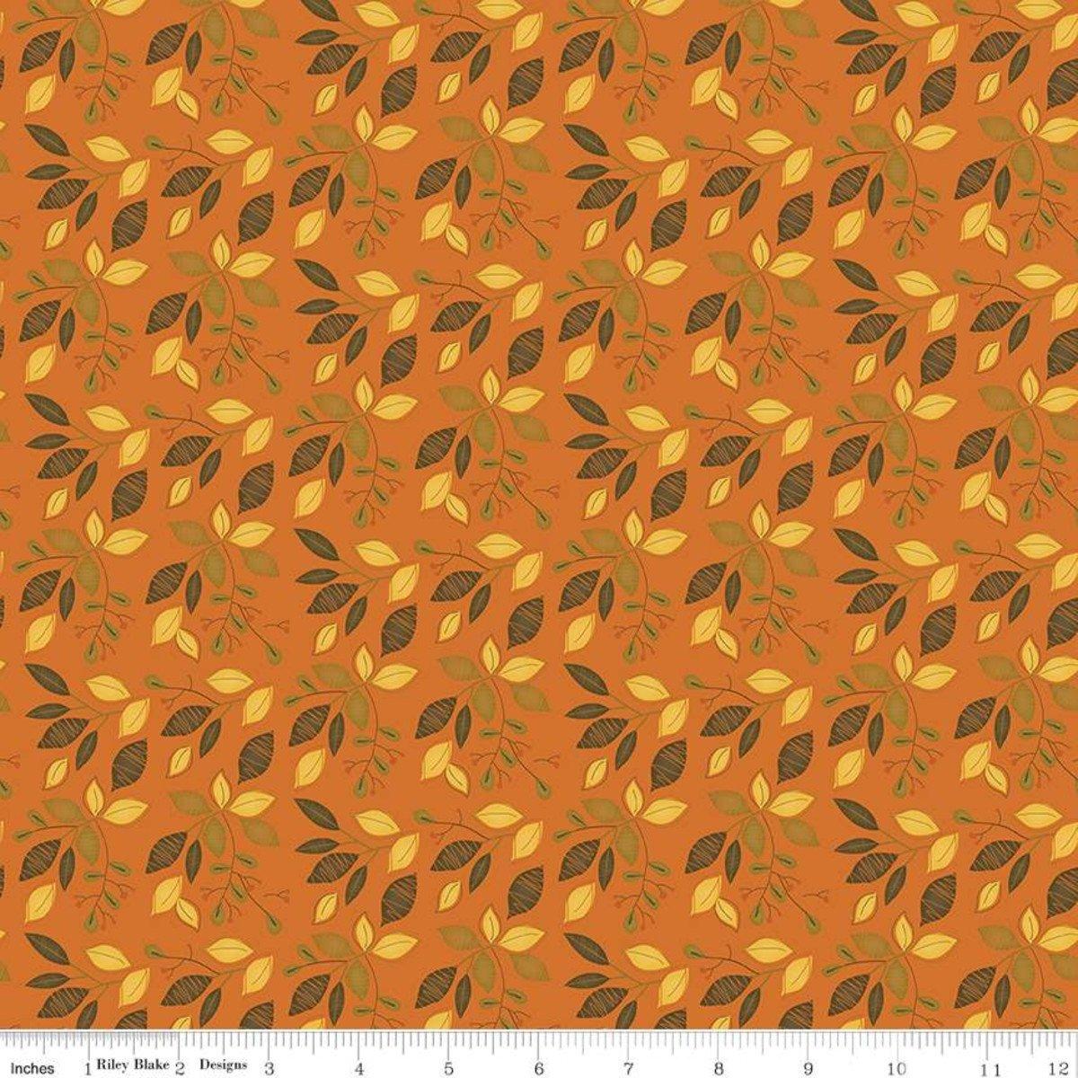 Adel in Autumn - Leaves - Orange