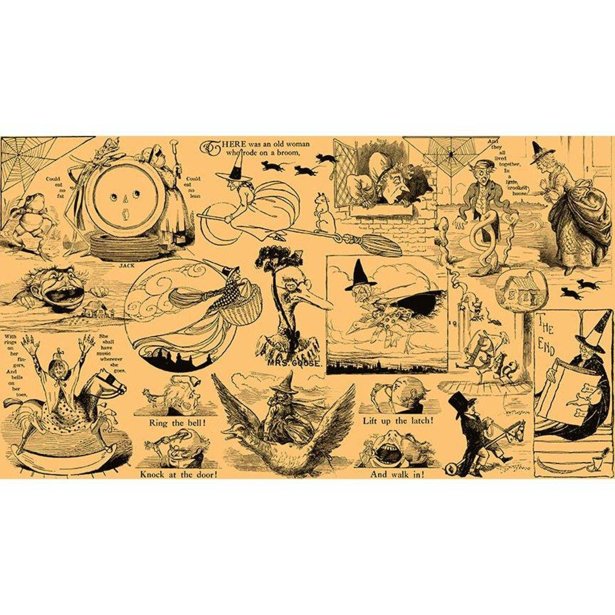 Goose Tales - Tall Tales Motifs Orange