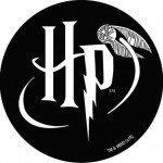 AD-FAB Fabric Badge - Harry Potter Logo - 3