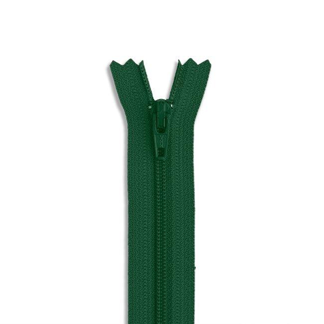 YKK #3 - 9 inch Coil Zipper - Green
