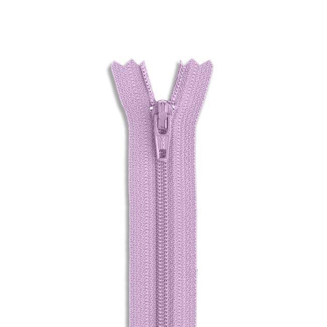 YKK #3 - 9 inch Coil Zipper - Lavender