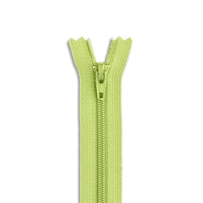 YKK #3 - 9 inch Coil Zipper - Light Green