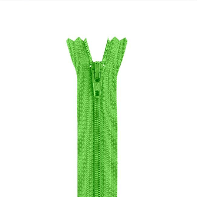 YKK #3 - 9 inch Coil Zipper - Spring Green