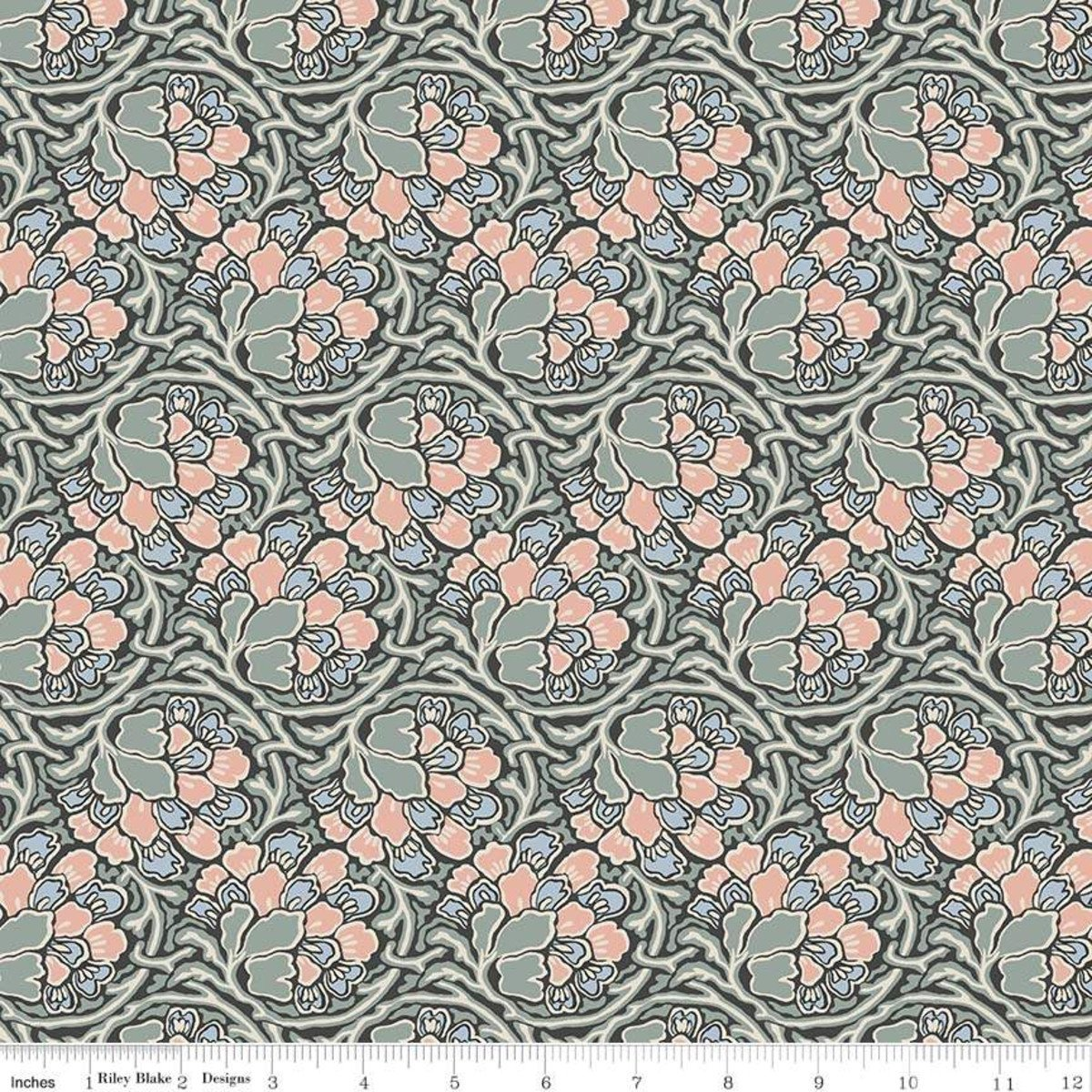 The Hesketh House Collection - Dianthus Dreams - Pink/Pale Green