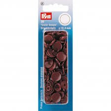 Color Snaps - 12.4mm - Brown