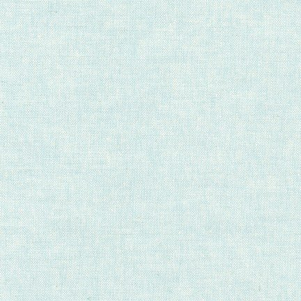 Essex Yarn Dyed - Aqua - 55% Linen 45% Cotton