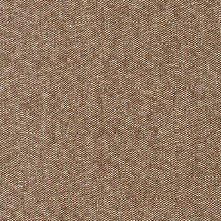Essex Yarn Dyed - Nutmeg - 55% Linen 45% Cotton