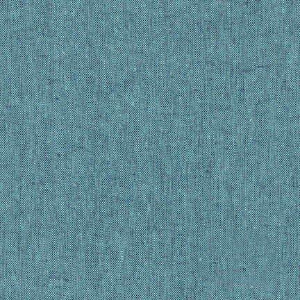 Essex Yarn Dyed - Malibu - 55% Linen 45% Cotton