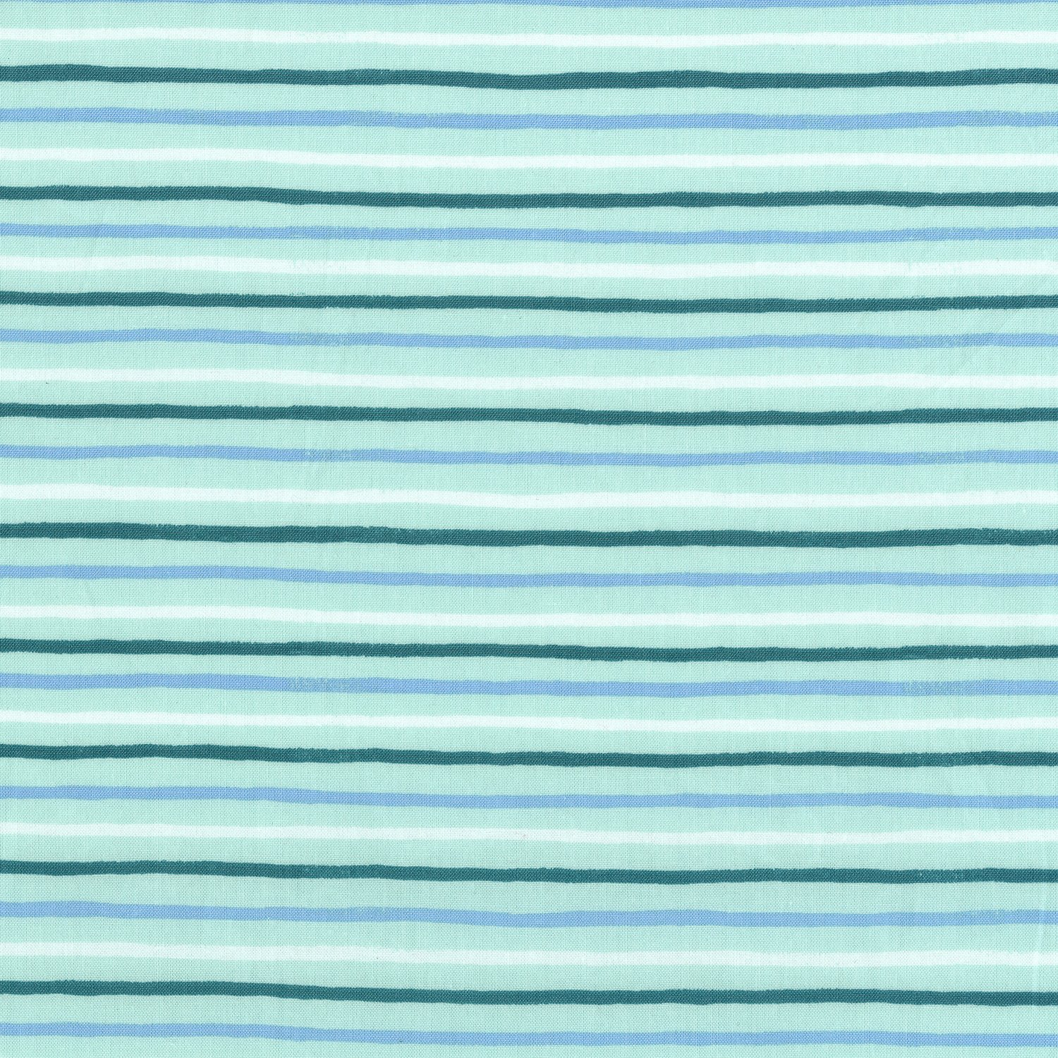 English Garden - Painted Stripes - Mint