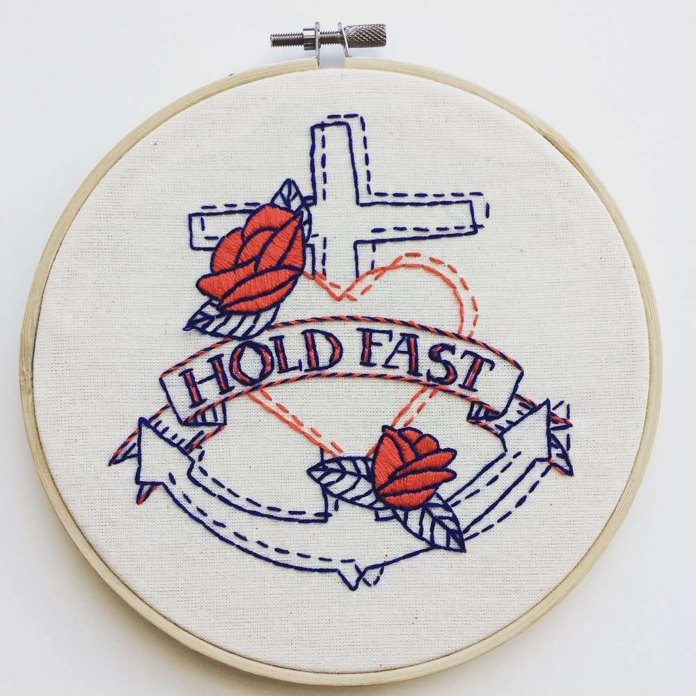 Holdfast - Complete Embroidery Kit