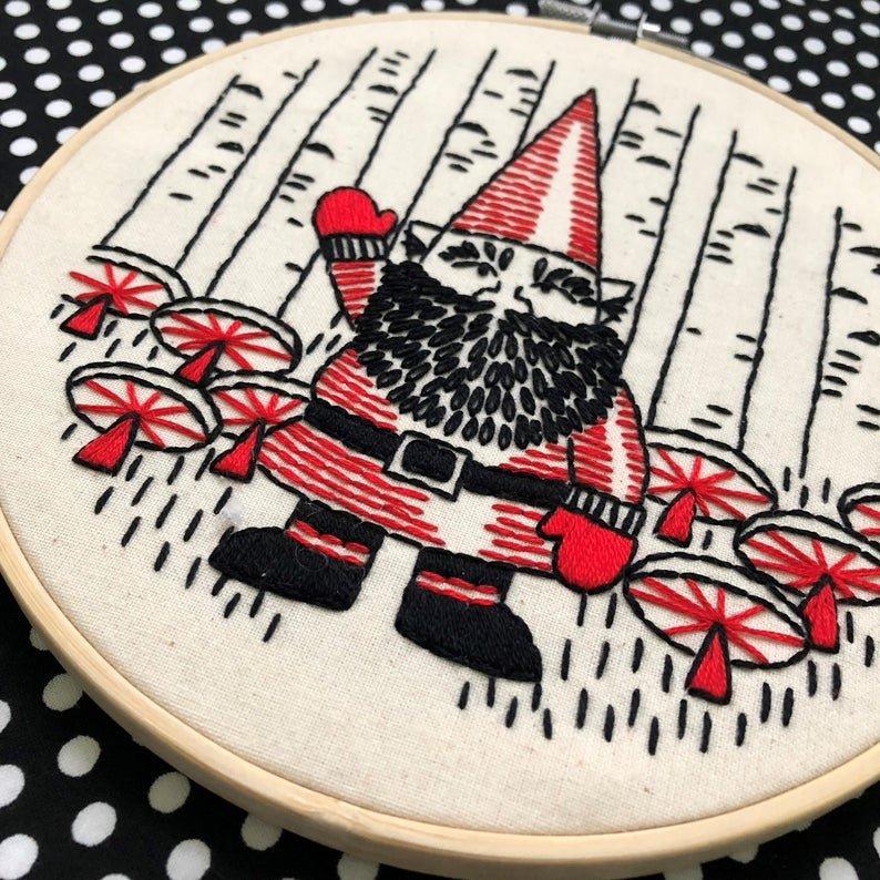 Gnomework - Complete Embroidery Kit