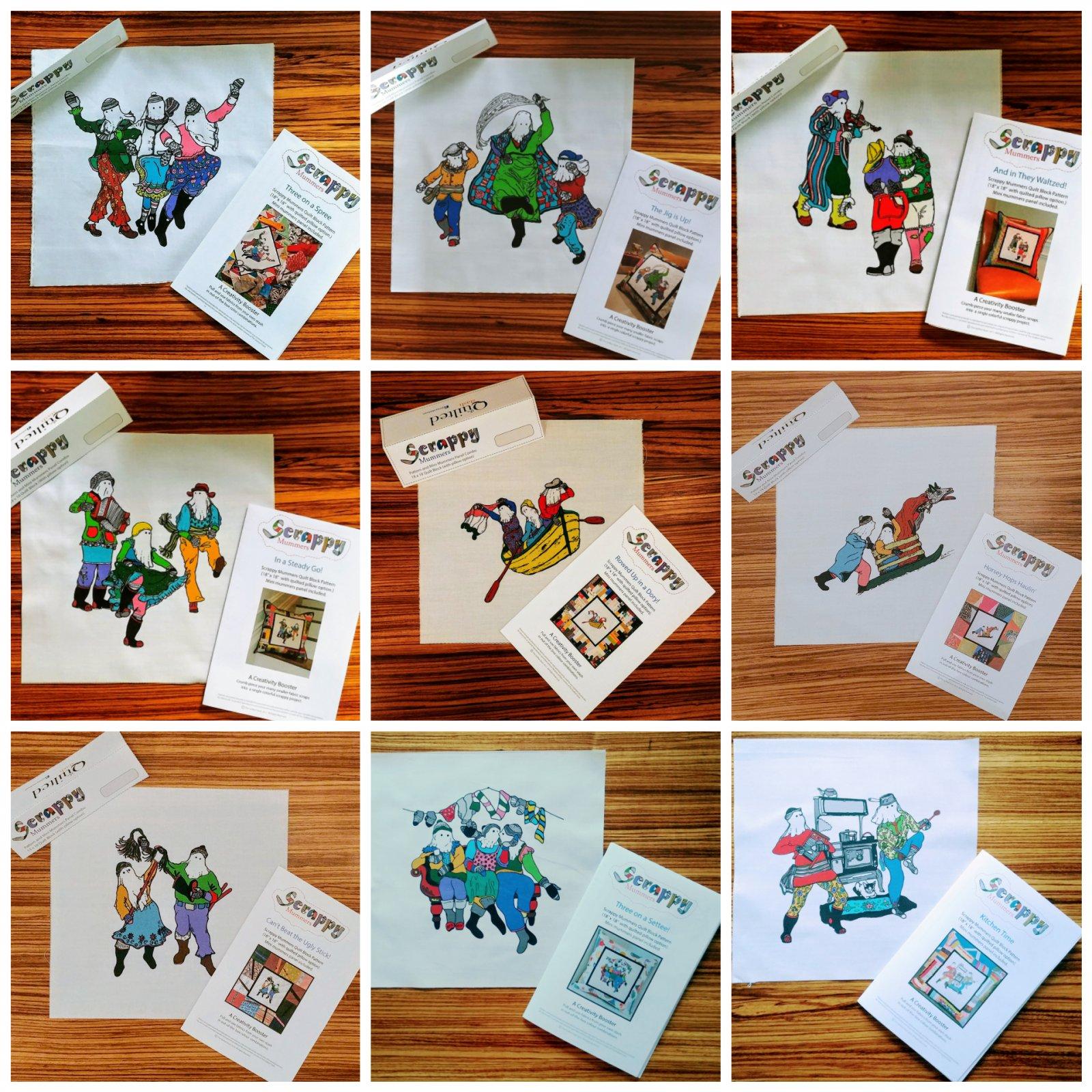 Scrappy Mummers Combos 1 - 9 (Complete Set)