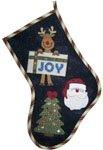 Santa Stocking - 15x20