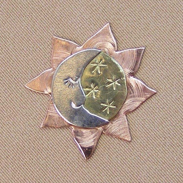 Magnetic Needle Nanny - Celestial Sun