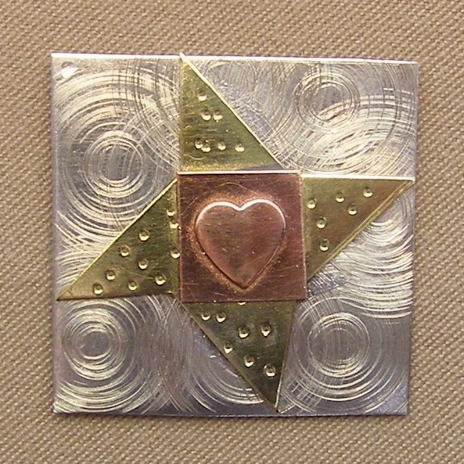 Magnetic Needle Nanny - Friendship Quilt Block
