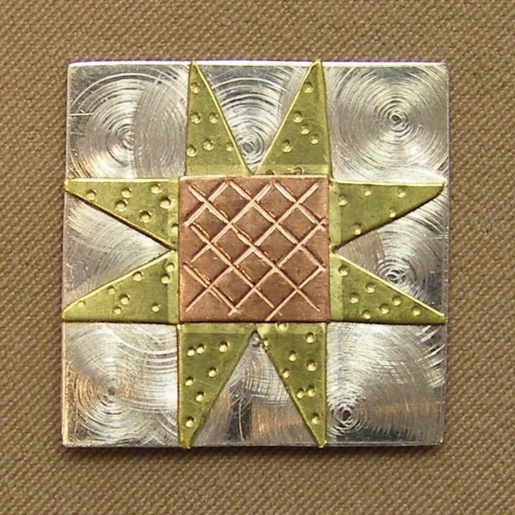 Magnetic Needle Nanny - Sawtooth Quilt Block