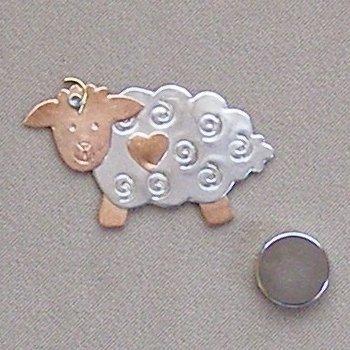 Magnetic Needle Nanny - Bo-Peep Sheep