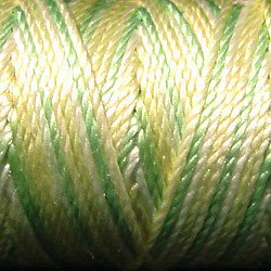 Pearl Silk: S 543 Lime Sherbet Variegated 20m