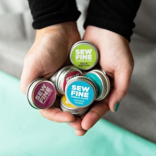 SEW FINE - Thread Gloss - .05 oz - Assorted Scents