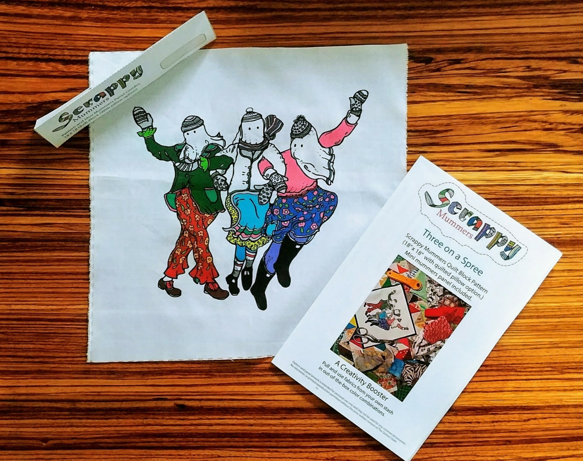 SCRAPPY MUMMER COMBO: #1 Three on a Spree