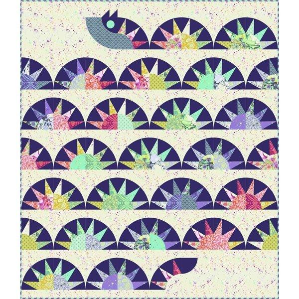 SERPENTINE Quilt Kit 64 x 74