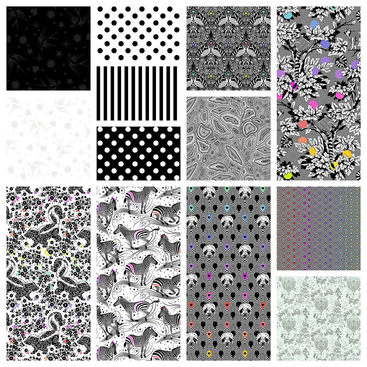Linework - Pre-Cut Hexagons - 42 pcs