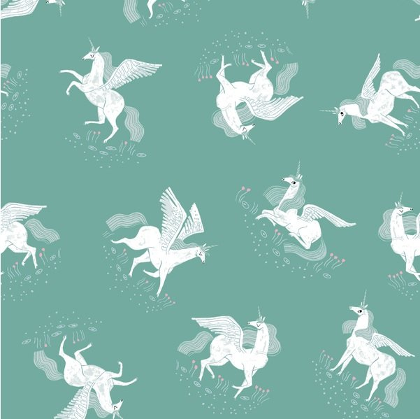Mythical - Tossed Unicorns - Billiard