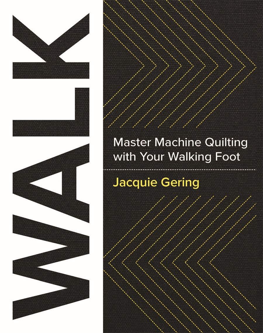 Walk - Master Machine Quilting Book