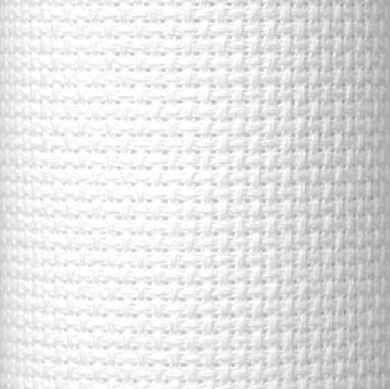 DUFTIN  Aida Cloth 54 (14 ct) 40x50cm - White