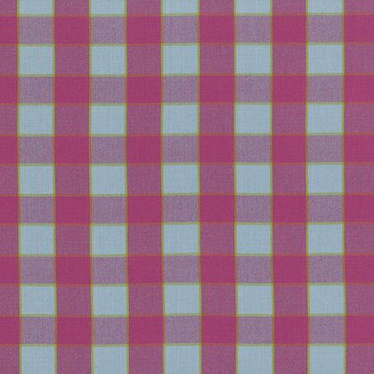 Checkerboard Plaid Ikat - Sky