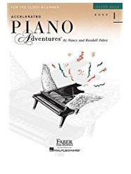 Accelerated Piano Adventures for the Older Beginner Lesson Book 1 Faber