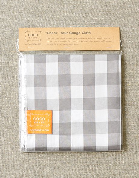 Check Your Gauge Cloth