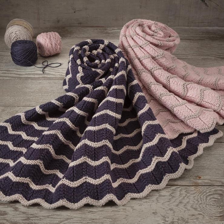 Boho Baby Blanket Kit from Appalachian Baby Design