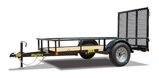 Single Axle Equipment Trailer