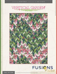 Vertical Garden Quilt - FREE Pattern Download