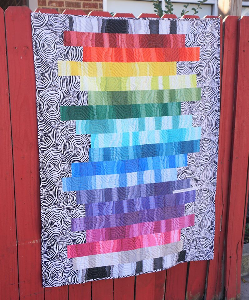 Stratosphere  Stacked Quilt - FREE Pattern Download