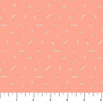 Treehouse Squiggles in Salmon 90074-21