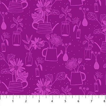 Flora - Planters in Purple