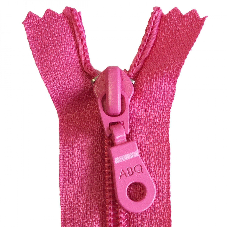 22in Zipper Fandango Pink Closed Bottom
