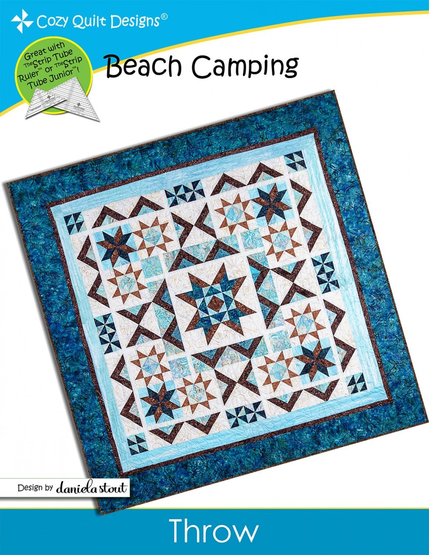 Beach Camping Quilt Kit - 72 x 72 Throw