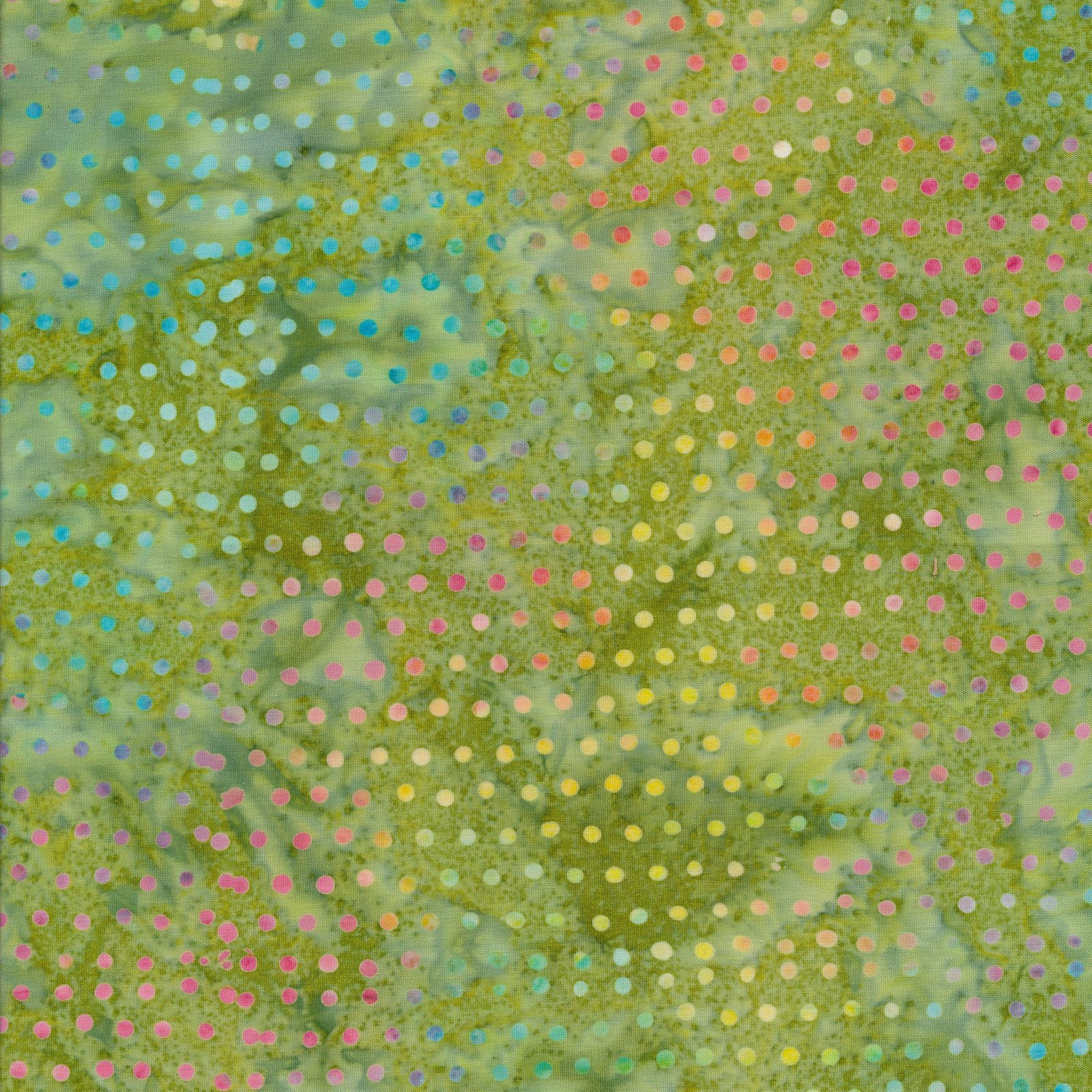 Dots 1442 Olive
