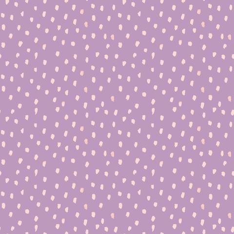 Dots Lavender Poplin