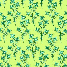 Emerald Sky Lime Floral Branch