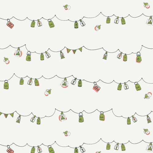 Dew & Moss - Playful Mini Bunting