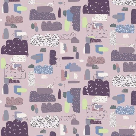 Mystical - Cloud Nine - Dusty Rose Fabric