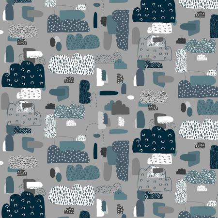 Mystical - Cloud Nine - Night Sky Fabric