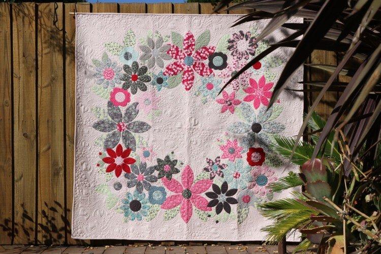 Flowering Wreath Quilt
