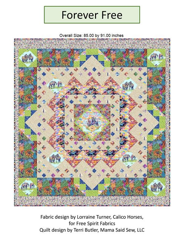 Forever Free Quilt Pattern