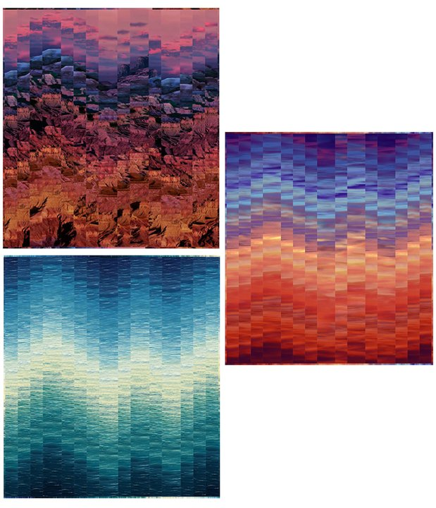 Ombre Effects - FREE Pattern Download