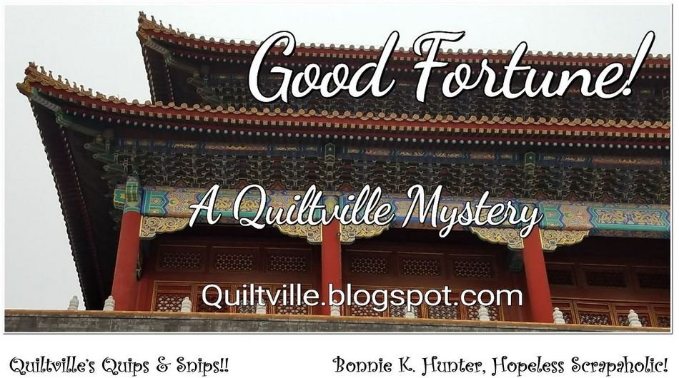 2018 Bonnie Hunter Mystery: Good Fortune